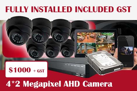 4*2 Megapixel AHD Camera