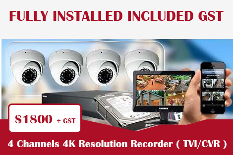 4 Channels 4K Resolution Recorder